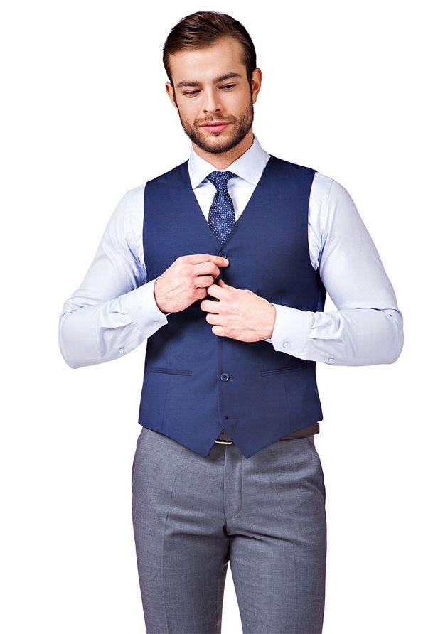 8c34714ffac61 Poradnik - Kamizelka męska – z czym ją nosić, aby wyglądać modnie?